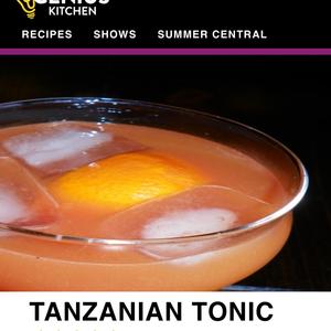 Tanzanian Tonic