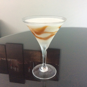 Caramel Haze Martini