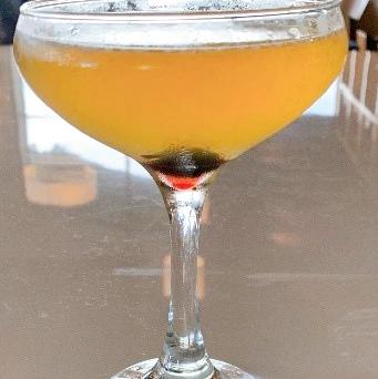 Apricot Apple Martini