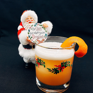 Winter Whisky Sour