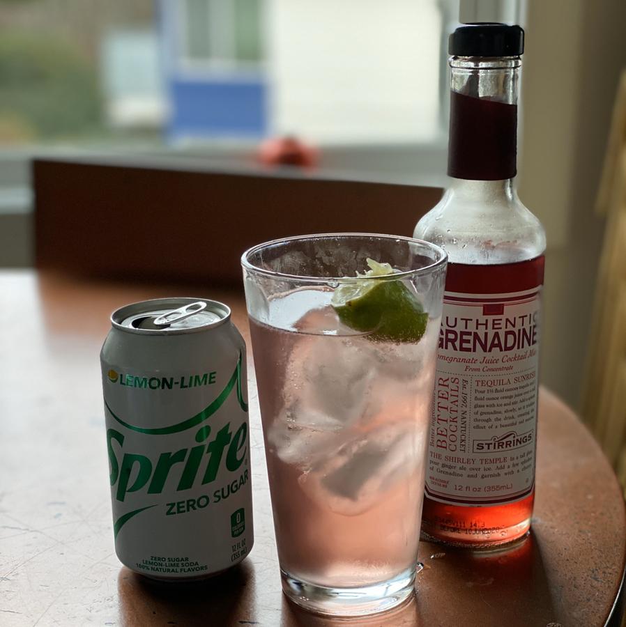 Pom Bomb Mocktail