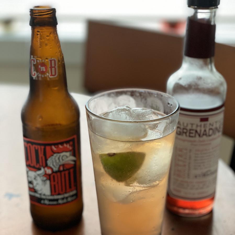 Pom Bull Mule Mocktail