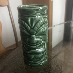 Tiki tea cup