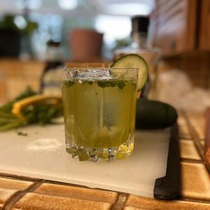 The Cilantro Cucumber Margarita