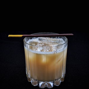 Vegan Bourbon Milk Punch