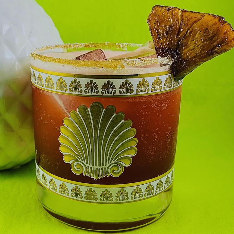 Tropical Quarantine Cocktail