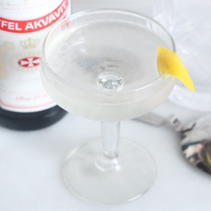 Aquavit Martini