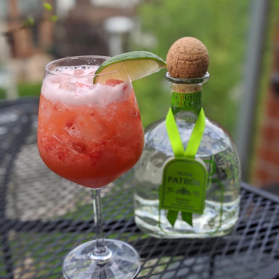 Strawberry-Pineapple Margarita
