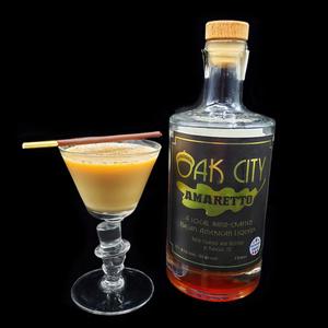 Roasted Vanilla Almond Cocktail