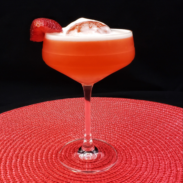 Strawberry 🍓 Passion Tequila Sour
