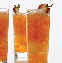 Strawberry-Lemon Mojitos