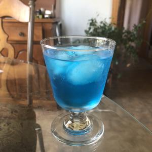 Blue eyed martini