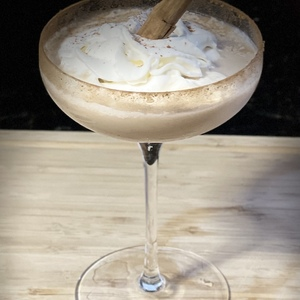 Pumpkin Cafecito Martini
