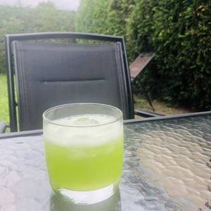 Apple & melon cocktail