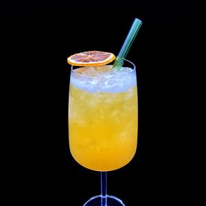 Tropical Bourbon Sip