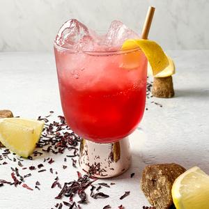Tequila Hibiscus Cooler