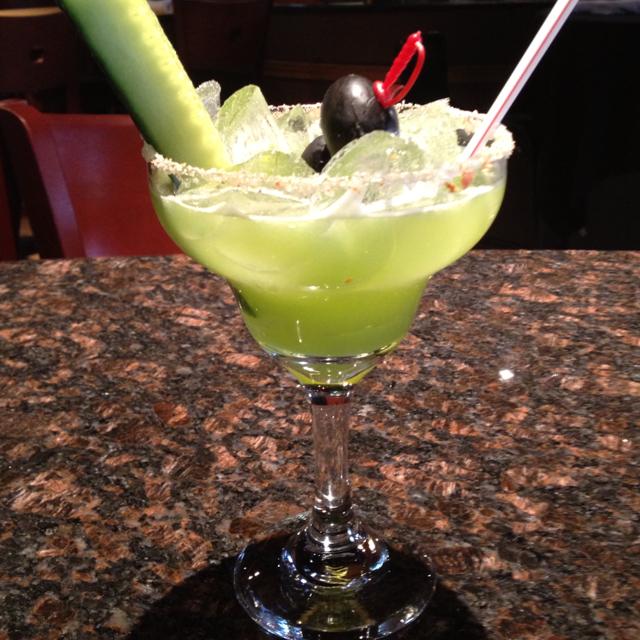 Cucumber Diablo Margarita
