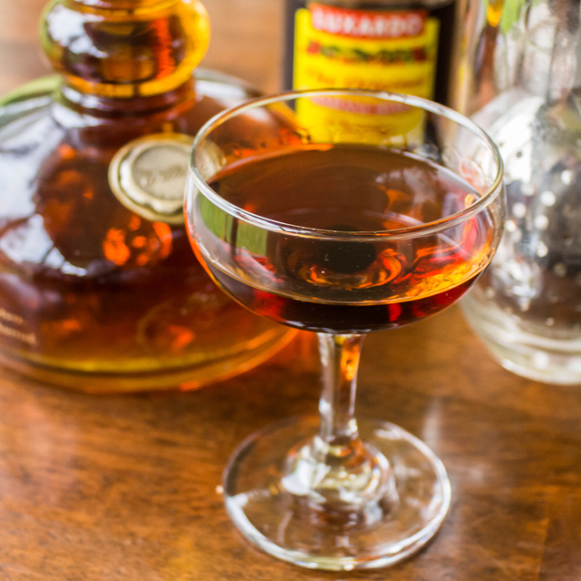 Bacon-Infused Manhattan #1