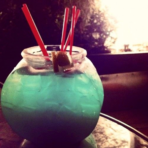 Blue Martini Fishbowl