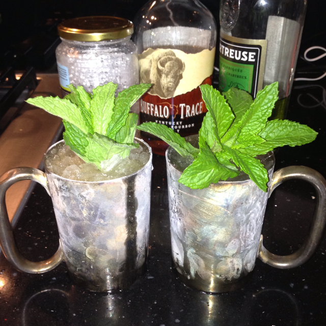 Chartreuse Julep