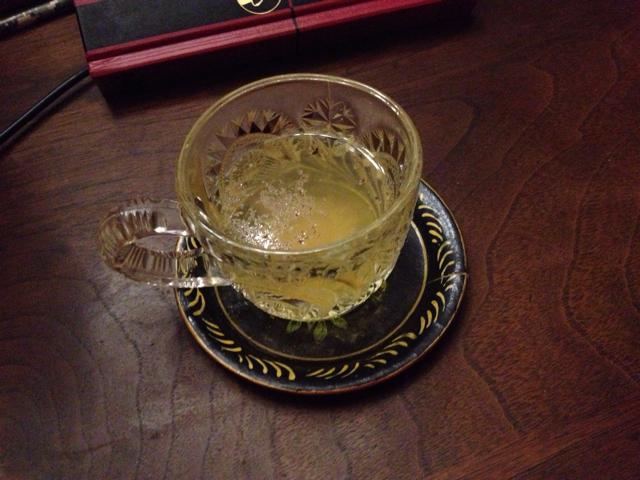 Mason's Rum Spice Tea Toddy
