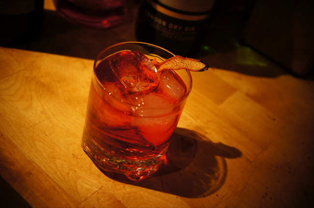 The Smoked Negroni