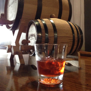 Double Barrel Negroni