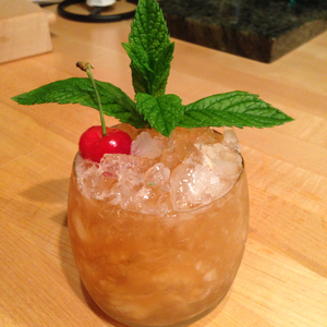 Oregon Rainier Cherry Julep