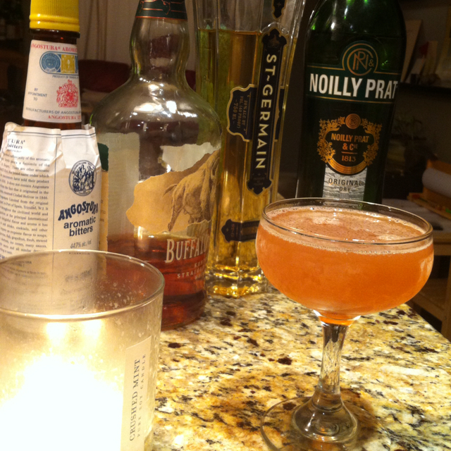 Elderflower Manhattan