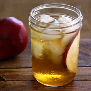 Bourbon and Spicy Ginger Soda