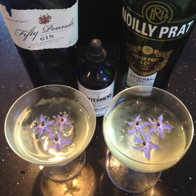 Borage Martini