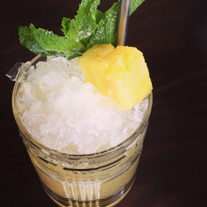 50/50 Pineapple Julep