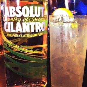 Cilantro Lemonade