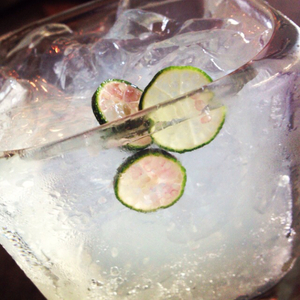 Finger Lime Fizz