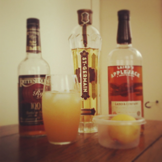 Variation on Summer Rye by St-Germain