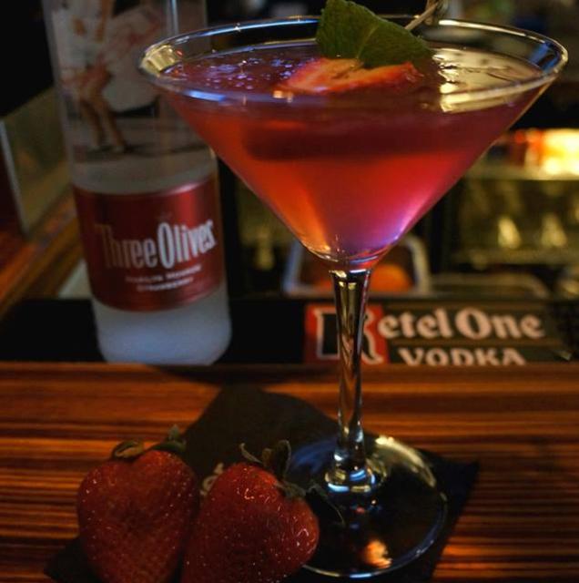Strawberry Cosmo