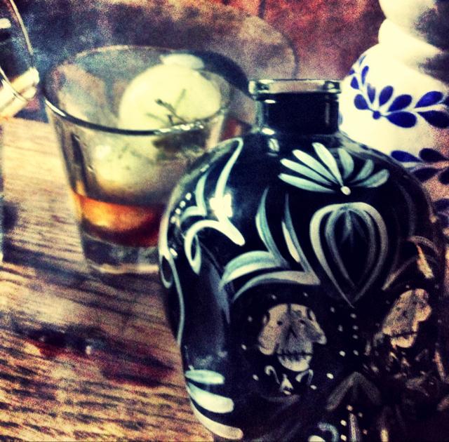 Caramelised Chamomile Tequila Old Fashioned