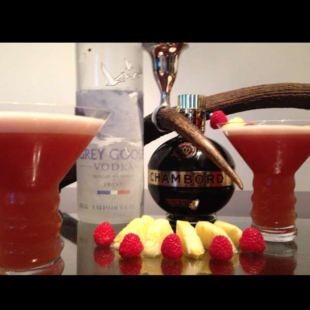 Fresh French Martini