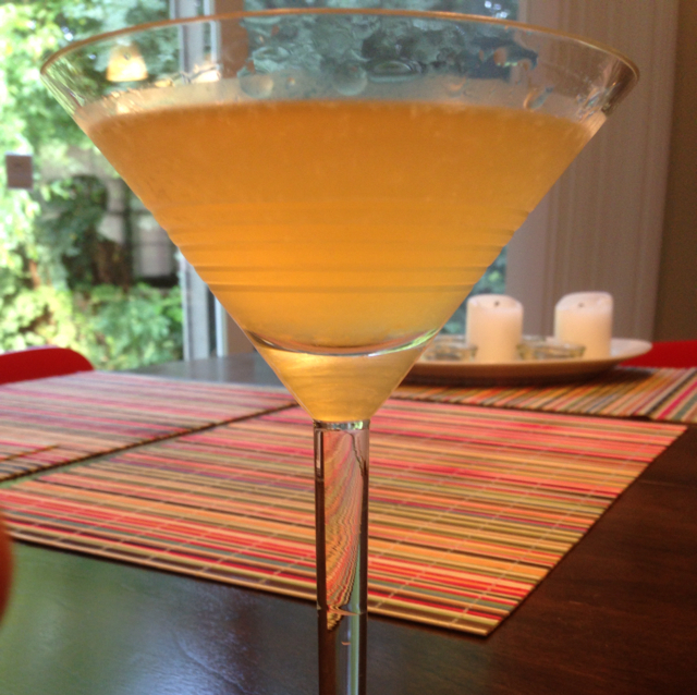Spiced Peartini