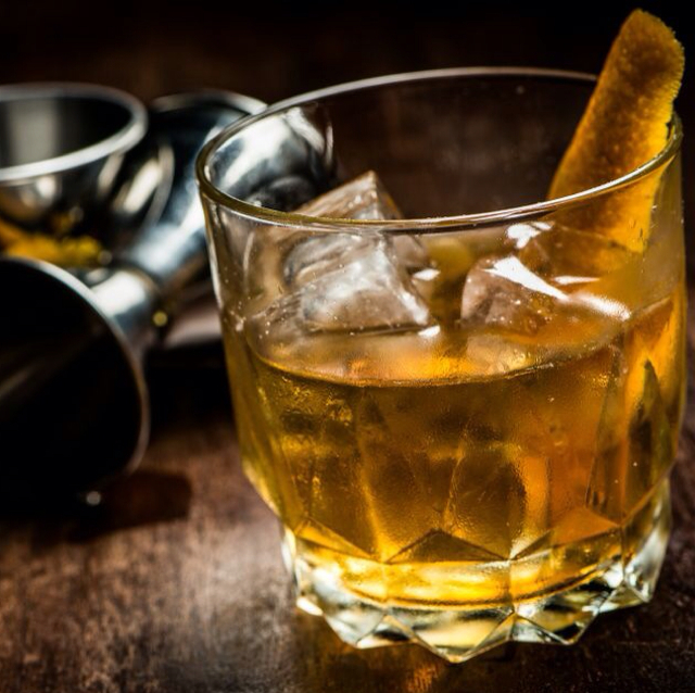 """Rum Row"" Old Fashioned"