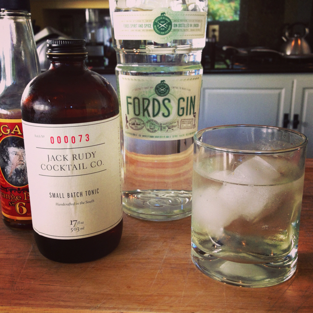 Jack Rudy Gin & Tonic