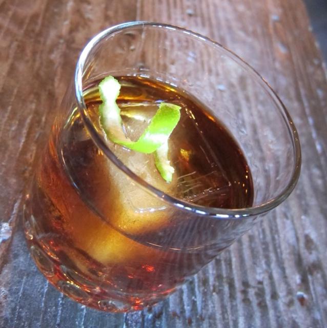 Cuba Libre Old Fashioned