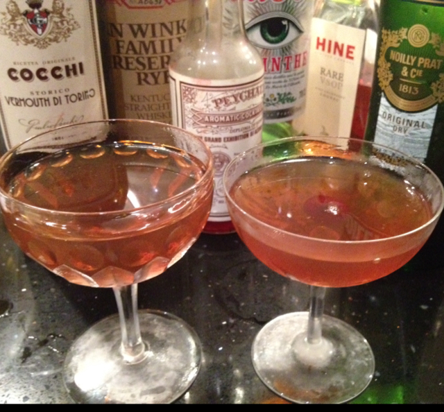 Sazerac Manhattan
