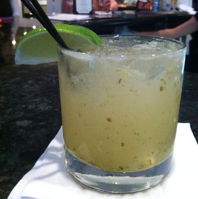 Fire-roasted Jalapeño Margarita