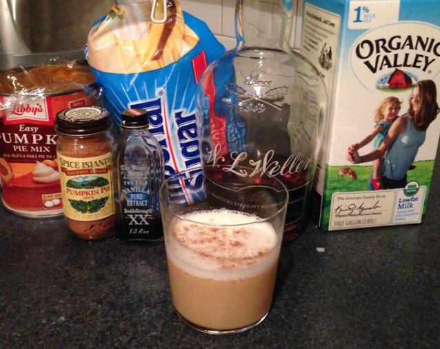 Pumpkin Bourbon Milk Punch