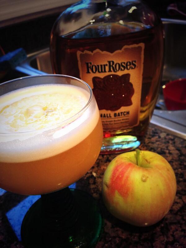 Maple Apple Bourbon Sour