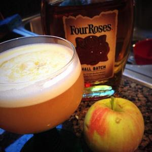 Maple Apple Bourbon Sour