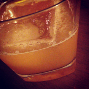Orange & Fig Marmalade Whiskey Sour