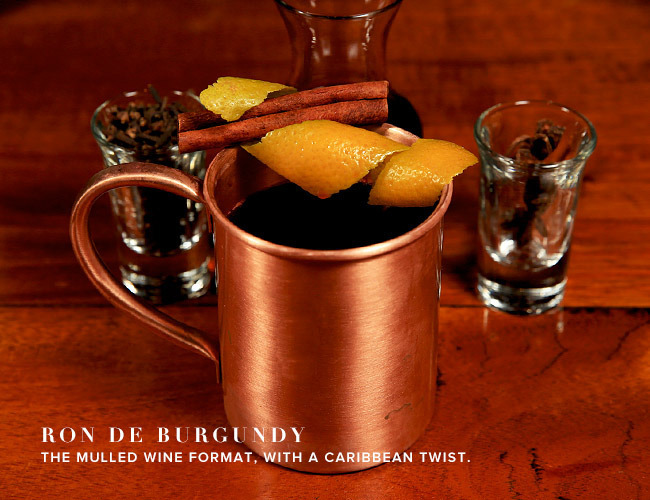 Ron de Burgundy Mulled Wine