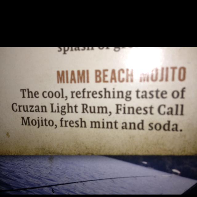 Miami Beach Mojito